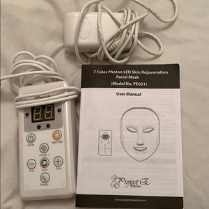 Project E Beauty LED face mask!!